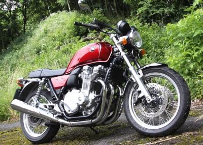Oldschoolowa Honda CB1100EX w obiektywie