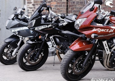 BMW F800, Yamaha FZ6 i Suzuki Bandit 650 S - zdjęcia z testu