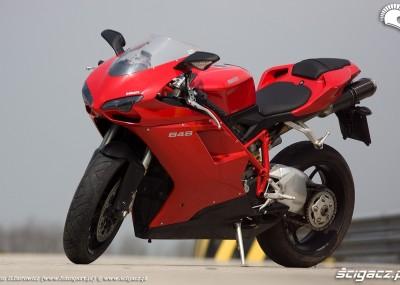 Ducati 848 - nieduży superbike