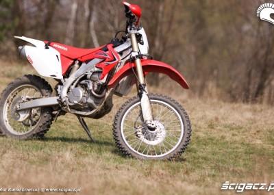 Honda w offroadowych warunkach - fotogaleria CRF 450X