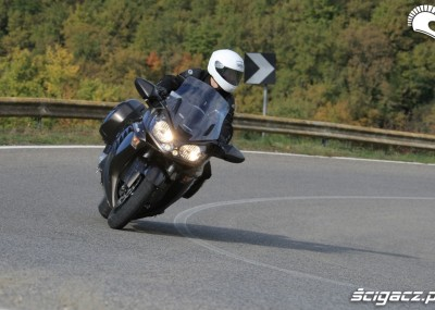 Kawasaki GTR 1400 w Toskanii