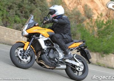 Prezentacja Kawasaki Versys model 2010