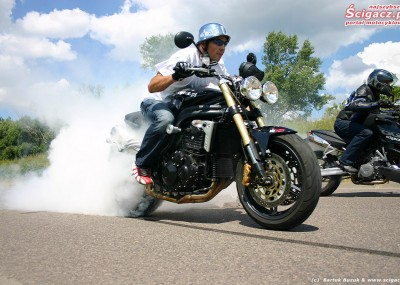 Foto Triumph Speed Triple i KTM Super Duke 990
