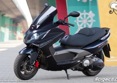 Xciting 500R ABS - zdjęcia maksiskutera Kymco