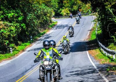 Motocyklem po Tajlandii z zespołem ADVPoland