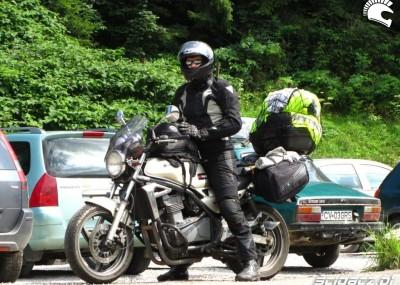 Kawasaki ER-5 do turystyki - podróż na Bałkany