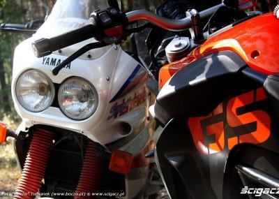 Turystyczne enduro BMW vs Yamaha - fotogaleria