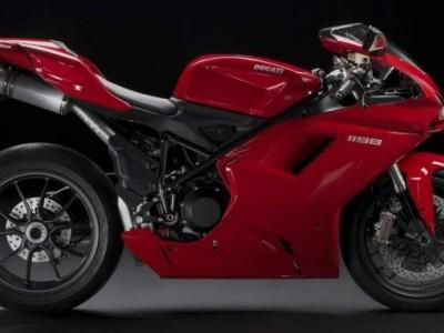 Ducati 1198 2009 red