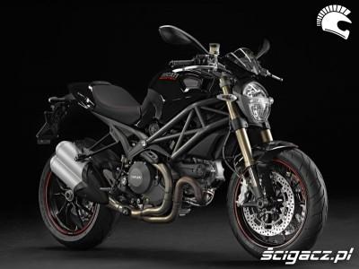 Ducati Monster 1100 Evo czarne malowanie