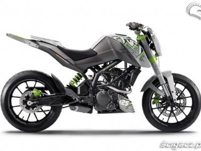KTM 125 Stunt