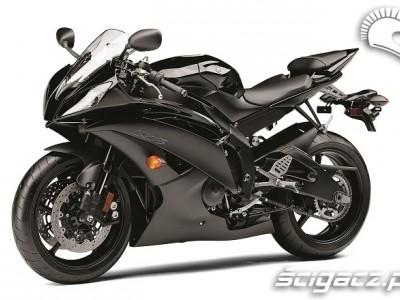 Yamaha R6 2011 czarne malowanie
