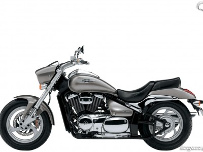 left side Suzuki M 800 Intruder 2010