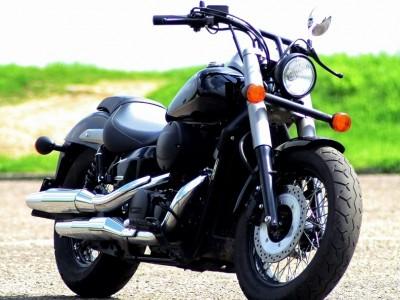 Honda Shadow Black Spirit prawy bok