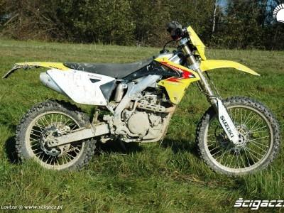 Suzuki RMX450Z prawy profil
