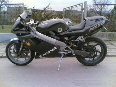 Cagiva Mito 125 black