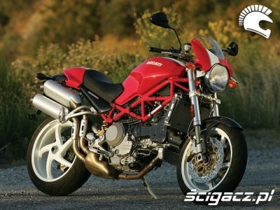 Ducati Monster S4R czerwony