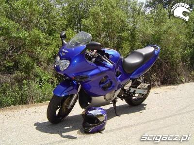 GSX 600F jajko niebieski