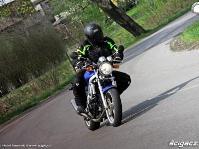 zakret Suzuki SV650