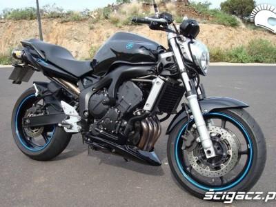 Yamaha FZ6N black blue