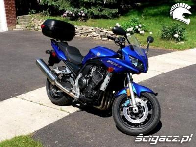 Kufer do Yamaha fazer 1000