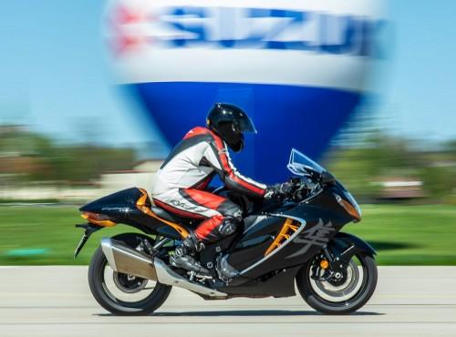 Suzuki Hayabusa 2021 - test motocykla