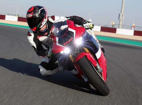 Honda CBR 1000RR-R Fireblade - wrażenia z jazdy [FILM]