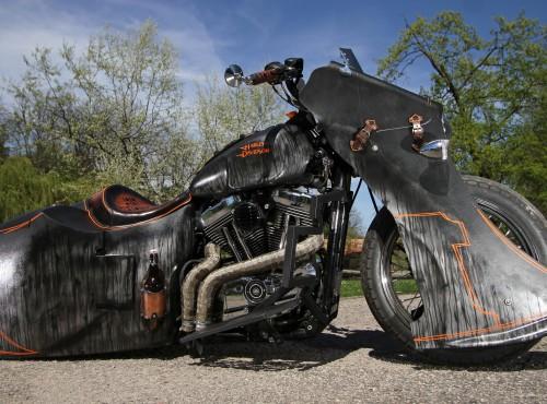 Harley-Davidson Sportster custom w stylu Led Sled [zdjęcia]