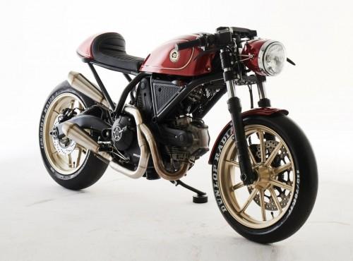 Ducati Scrambler Custom Rumble ESG w finale światowym? Co ten Polak potrafi...