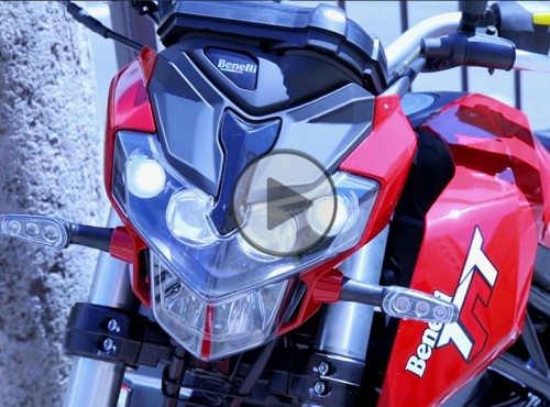 Benelli TNT 125 Tornado [test video]