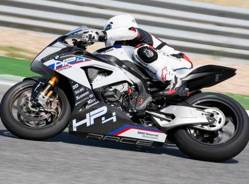 Limitowane BMW HP4 Race - pokaz siły