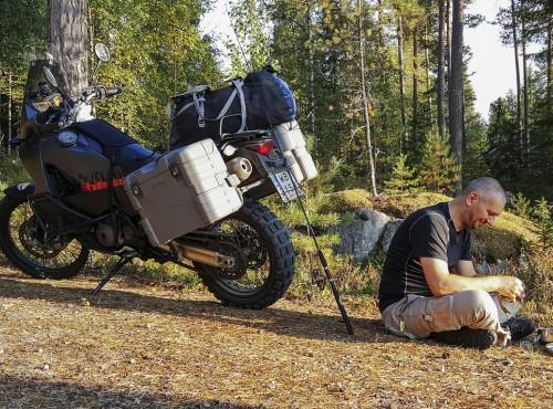 Szczupak po fińsku, czyli motocyklem do Finlandii z wędką i Kaczorem