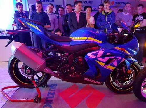 Suzuki GSX-R 1000 2017: Polska premiera w nowym salonie Suzuki GRANDys duo