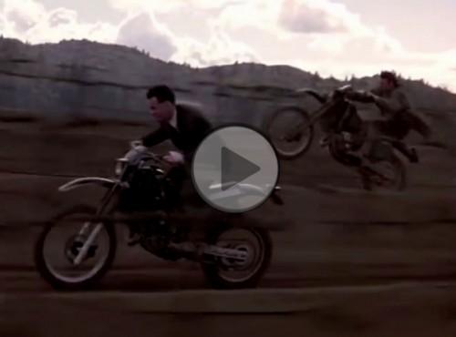Suzuki TS 250 X - wg Ridleya Scotta motocykl napędzany rzędową czwórką