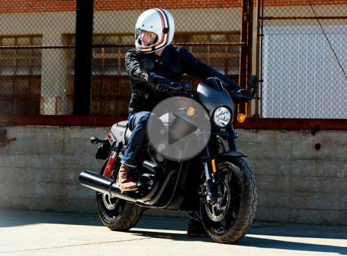 Nowy Harley-Davidson Street Rod