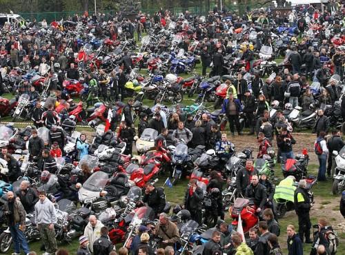 Rozpoczęcie sezonu motocyklowego na tysiąc sposobów