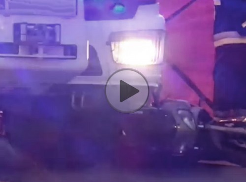 Motocykl wpadł pod TIRa na Łodygowej - śmiertelny wypadek na Targówku w Warszawie