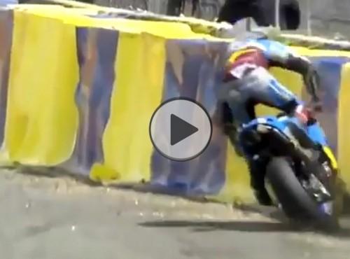 Jack Miller i dramatyczny wypadek MotoGP w GP Francji  2017 na Le Mans