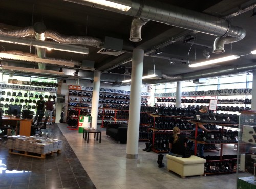 Nowy sklep motocyklowy w Warszawie