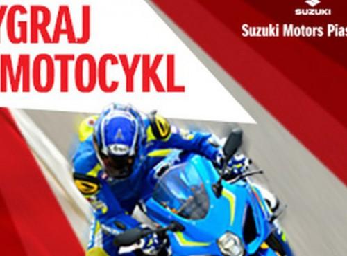 Kochasz Suzuki? Graj o motocykl!