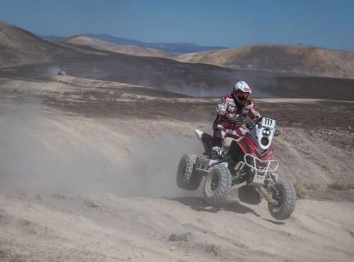 Atacama Rally: bolesny