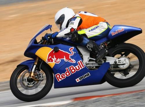 Daniel Blin zbiera doświadczenie podczas testów Red Bull MotoGP Rookies Cup