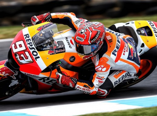 Kwalifikacje do Grand Prix Australii - Marc Marquez dominuje