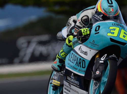 Moto3 w Australii - Deszcz, czerwona flaga i mamy Mistrza Świata