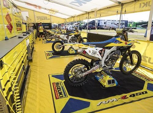 Team Suzuki wycofuje się z rywalizacji w MXGP
