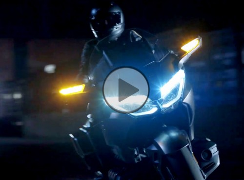Gold Wing na ostro - nowy film reklamowy Hondy