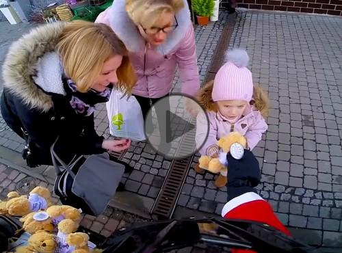 Quadowy Święty Mikołaj - świąteczna akcja vlogera