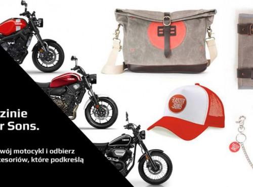 Witaj w rodzinie Faster Sons. Wybierz swój motocykl i odbierz pakiet akcesoriów