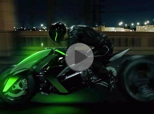 Kawasaki Concept J - pomysł na futurystyczny trójkołowiec powraca