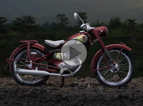 Yamaha Papercraft - dyskretny urok kartonowych modeli