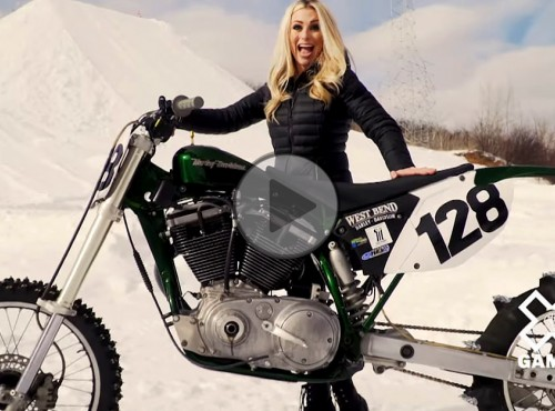 Harley-Davidson Winter X Games Snow Hill Climb - po śniegu na szczyt